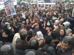 Demonstration for Farkhunda