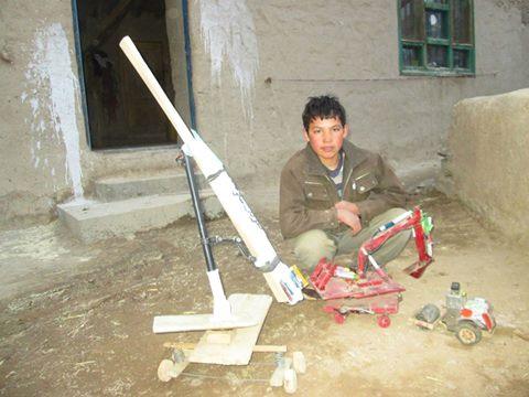 #AfghanInventors Bamyan