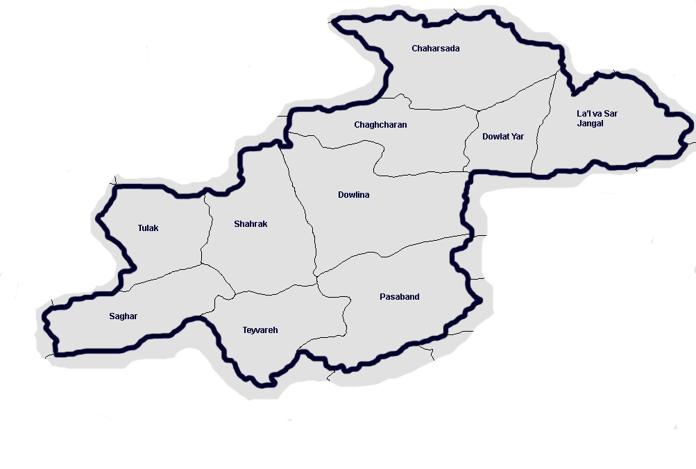Map of Ghor