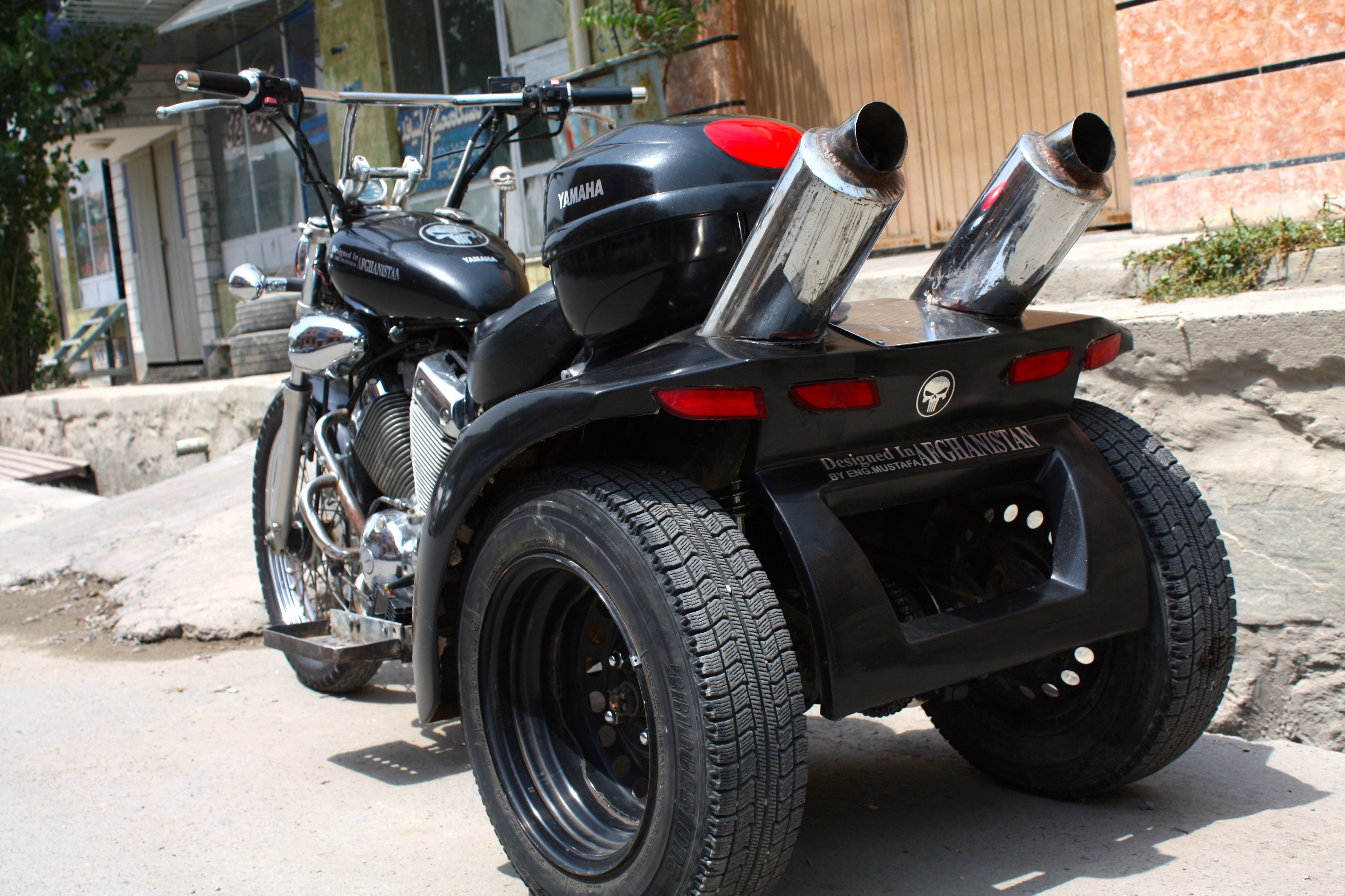 The prototype cost around 50 thousand afghani (under $1,000). (Photo by Zahra Khodadadi)