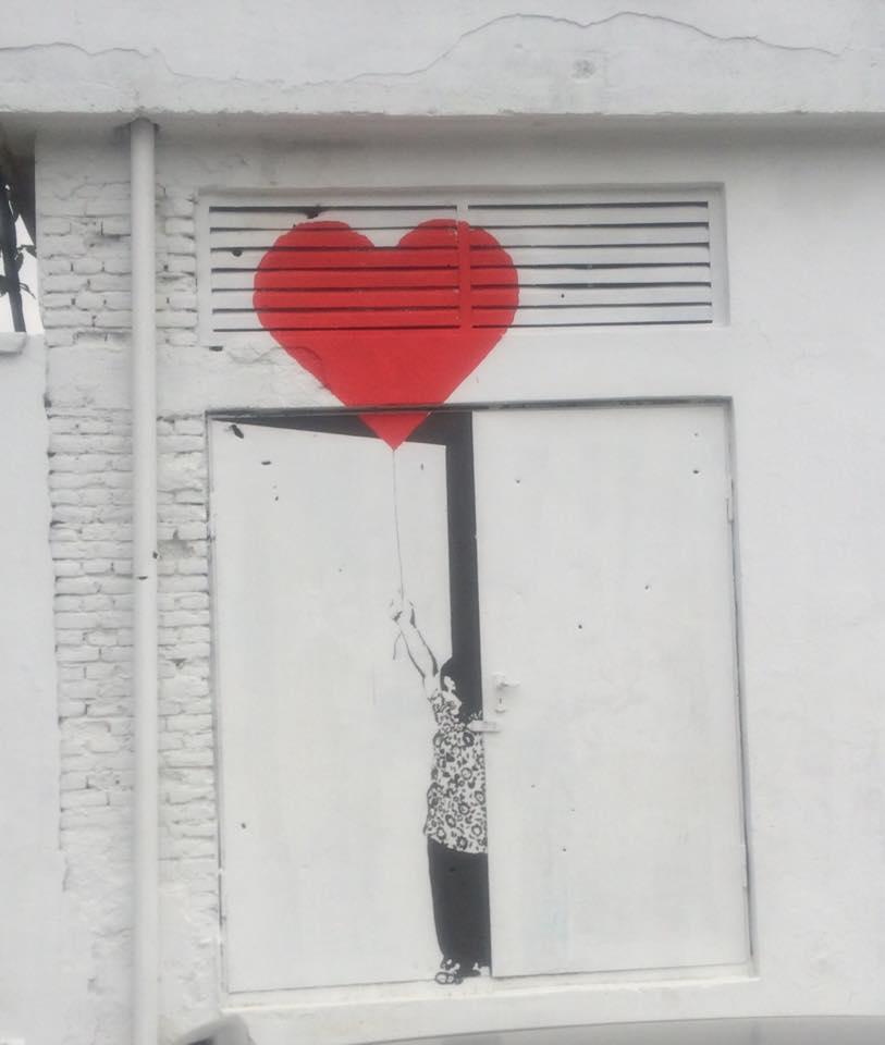 Street art by Kabir Mokammel and team