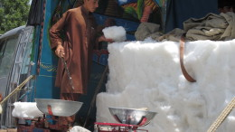 Turning Snow into Cash in Khost Province